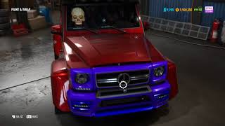 Need For Speed Payback mercedes benz g65 tuning offroad