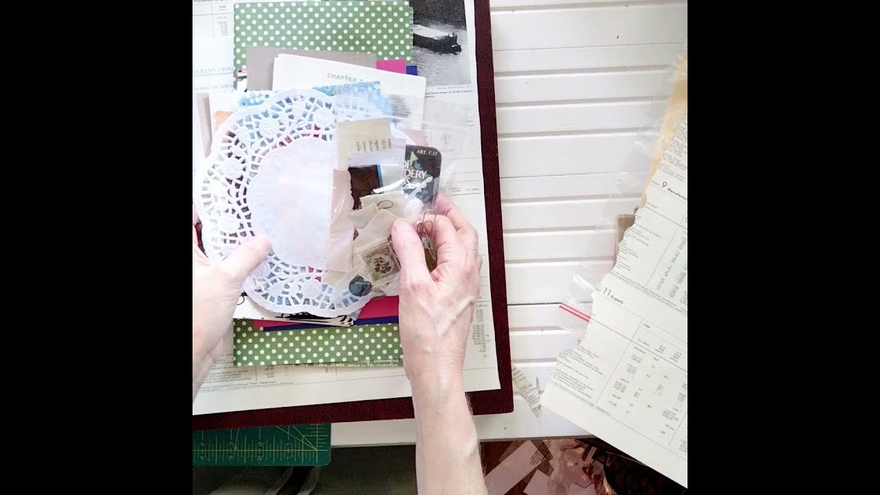 Destash Craft Supplies for Junk Journal Embellishments for Sale My Etsy shop Markets of Sunshine