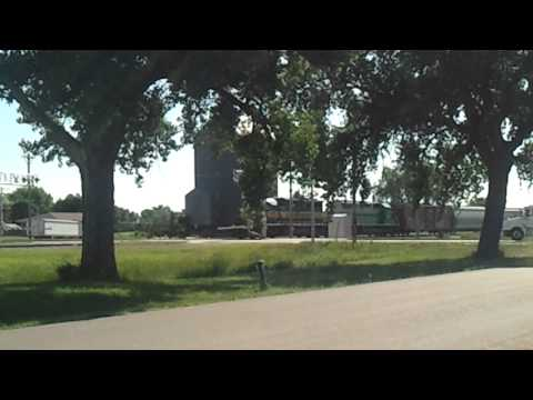 Canadian Pacific train crossing Wolsey, SD