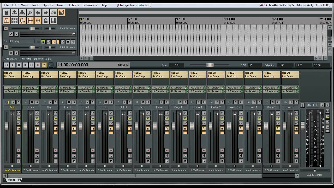 Tutorials For Reaper | Live Multi-track Recording or Mixing | Full Band  Recording | Record Your Show