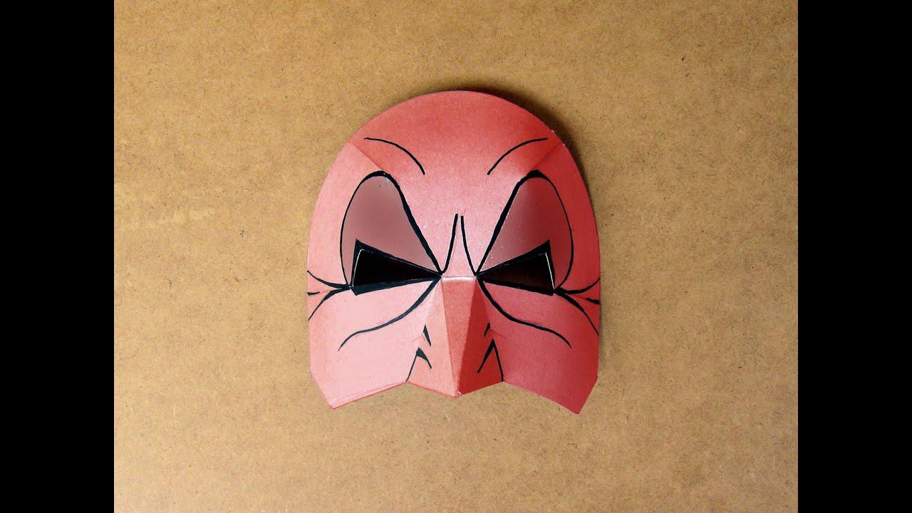 ab32130fd1 Como hacer de una máscara de cartulina. Educación Plástica - YouTube