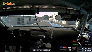 Philippe Chatelet Test BMW M6 GT3 Paul Ricard
