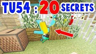TU54 : Top 20 Secrets : Minecraft : Xbox + PS3 + PS4 + Wii U + Switch
