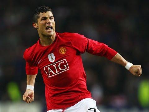 Cristiano Ronaldo 118 Goals for Manchester United 2003-2009