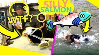 THE SILLY SALMON CHALLENGE  *wskoczyłem do rzeki w ubraniach*