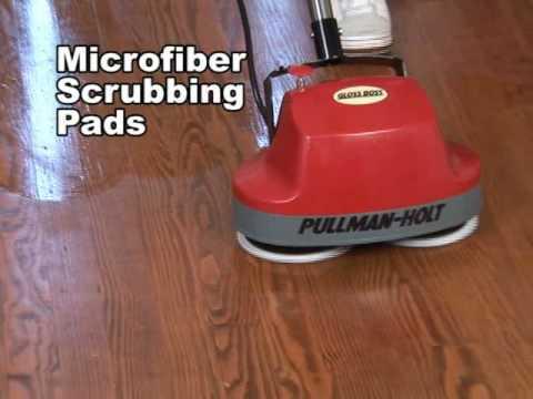 Pullman Holt Gloss Boss Mini Floor Scrubber And Buffer Review ...