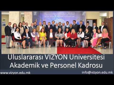 VİZYON yurt içi ve yurt dışı değişik  Üniversitelerle yaptığı Akademik İsbirliği Anlaşmaları
