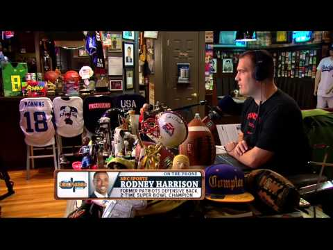 Rodney Harrison on The Dan Patrick Show (Full Interview) 9/10/15