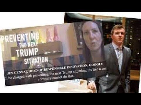 La cámara oculta capta a una ejecutiva de Google. Manipulación de los algoritmos para favorecer a la izquierda y perjudicar a Trump.