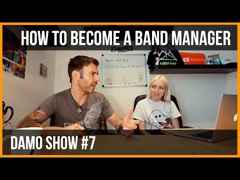 HOW TO BECOME A BAND MANAGER / BAND MANAGEMENT / ADVICE ON MANAGING AN ARTIST