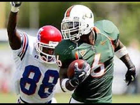 Antrel Rolle Miami Highlights    DBU