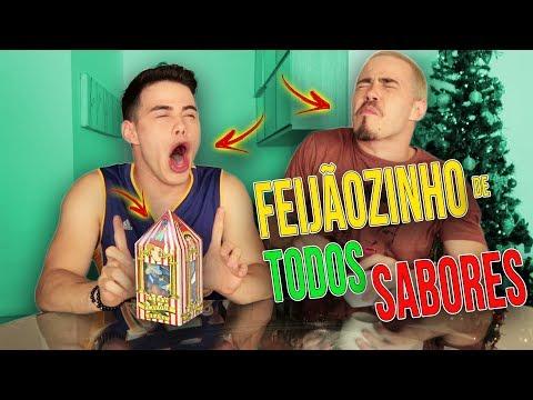 FEIJÃOZINHO DE TODOS OS SABORES QUEIMOU A NOSSA BOCA? 🔥😱 | Canal Brothers Rocha Oficial
