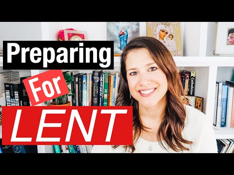 PREPARING FOR LENT 2020 || the 3 pillars of Lent for Catholic's