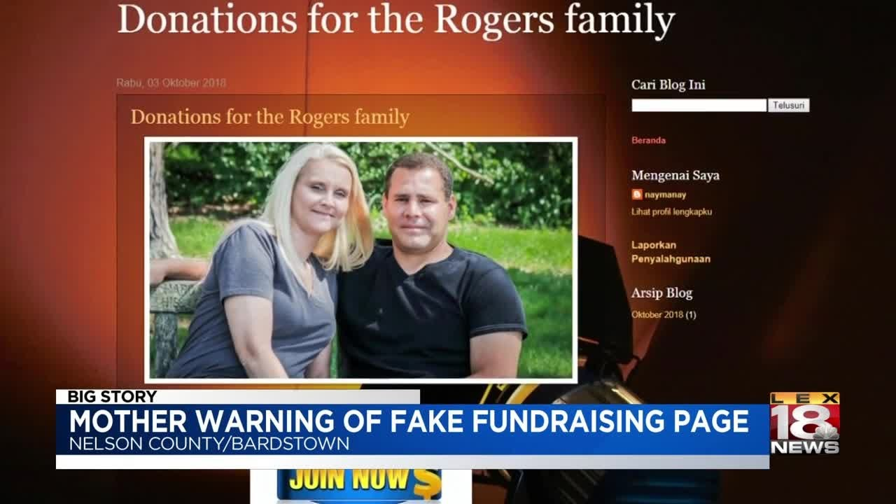 Sherry Ballard Gives Warning About Fake Fundraising Page