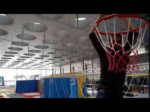 Trampoline Slam Dunk - Summer Entertainment City Doha