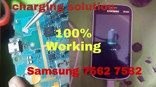 Samsung 7562,7582 Charging Solutions steb by steb 100% working