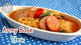 Korean Food: Army Base Soup (부대찌개)