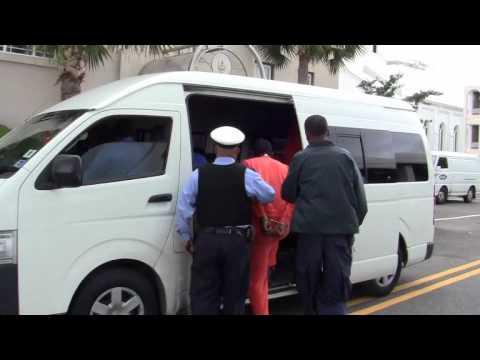 Jomar Caines Leaves Supreme Court Bermuda December 13 2011