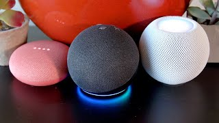Apple's HomePod Mini takes on the best of the smallest from Amazon and Google