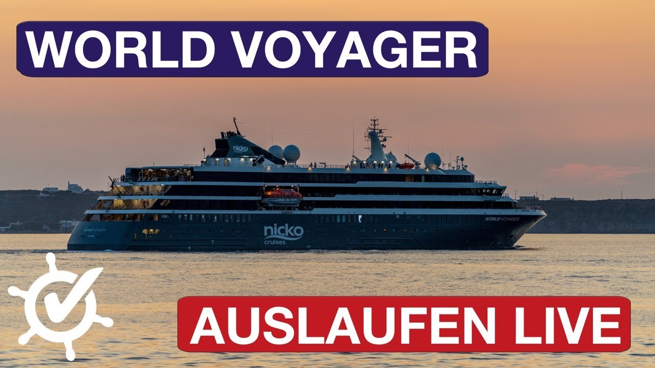 World Voyager: Auslaufen live aus Kiel