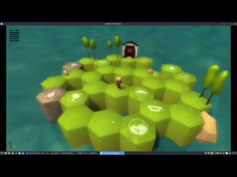 Godot Tutorial #5: 2-axis gimbal camera for 3D games