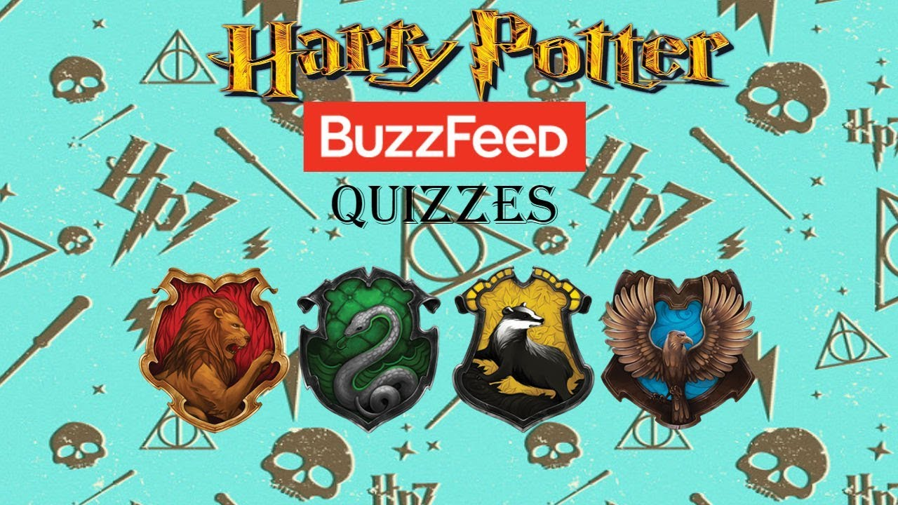 Taking Harry Potter Quizzes on BuzzFeed!