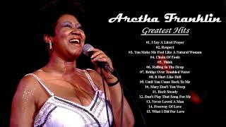 Aretha Franklin Greatest Hits - Aretha Franklin Playlist - Qeen Of The Soul