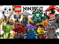 ALL 90+ LEGO NINJAGO VILLAIN MINIFIGURES COLLECTION! HD 2011-2017