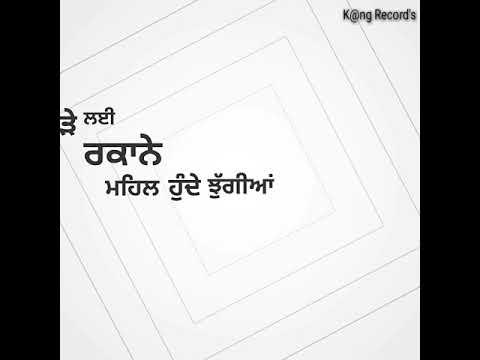 Jagirdar Song R Nait  New lyrics  WhatsApp Status Punjabi