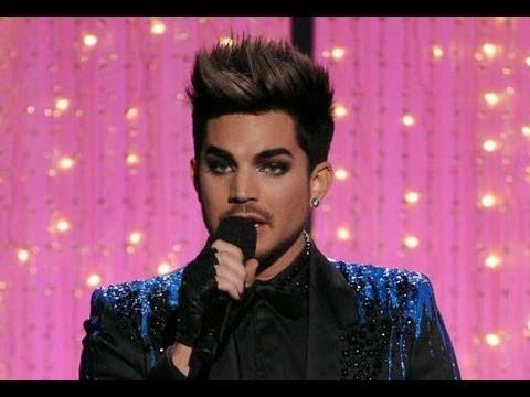 Adam Lambert Steals the Show VH1 DIVAS 2012