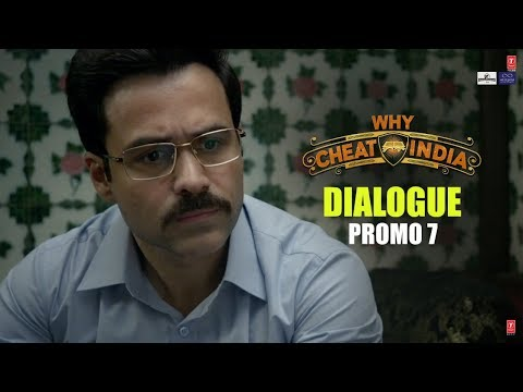 WHY CHEAT INDIA Dialogue Promo 7: Students Ki Line Badati Hi Rahegi  | Emraan Hashmi, Shreya D