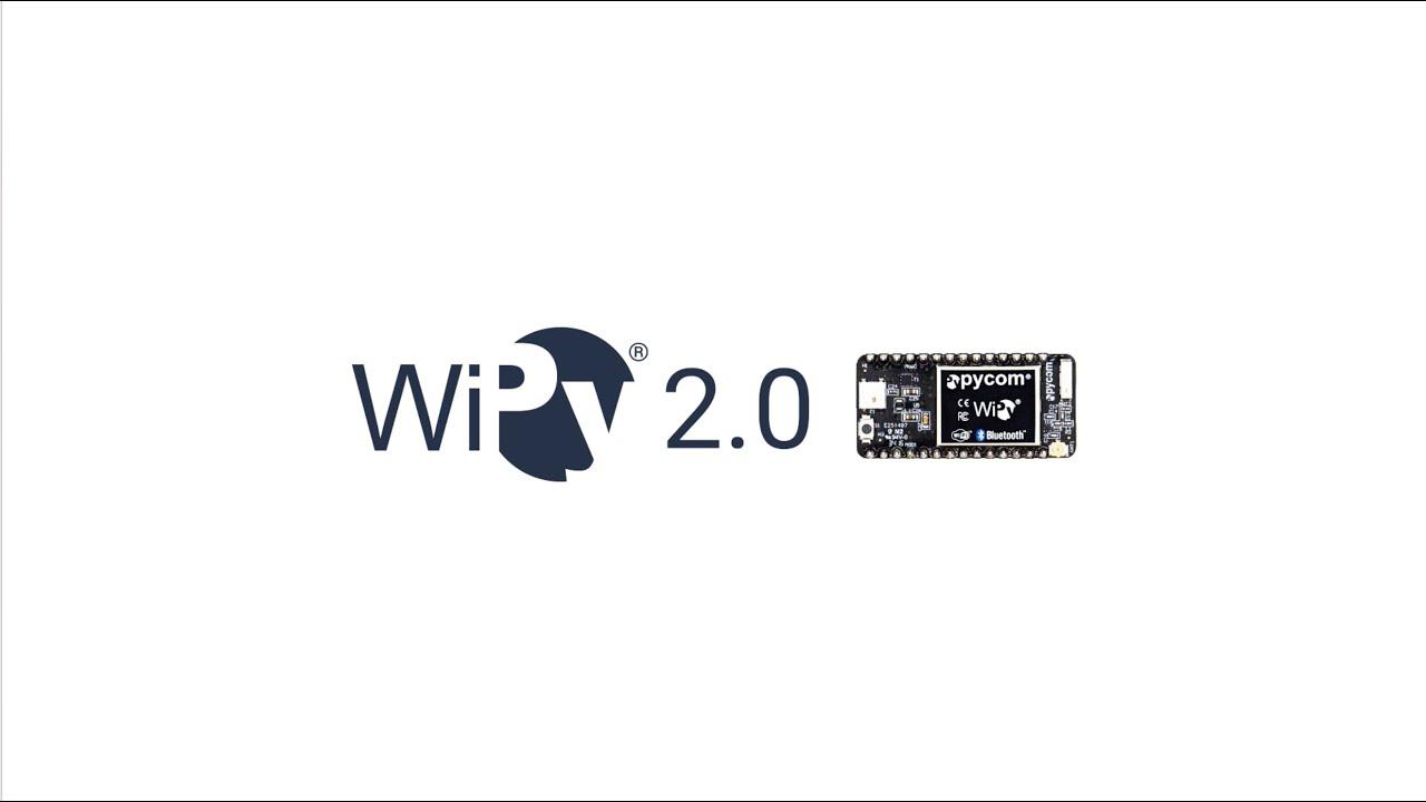 Pycom WiPy 2 0 - Featuring the Espressif ESP32 chipset