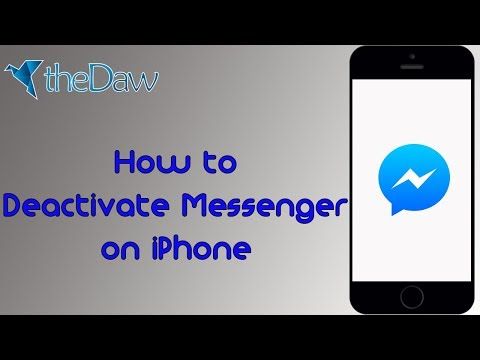 Remove account from fb messenger iphone