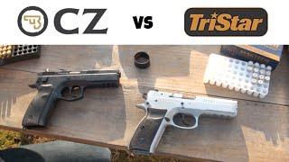 TriStar P-120 vs. CZ 75 SP-01