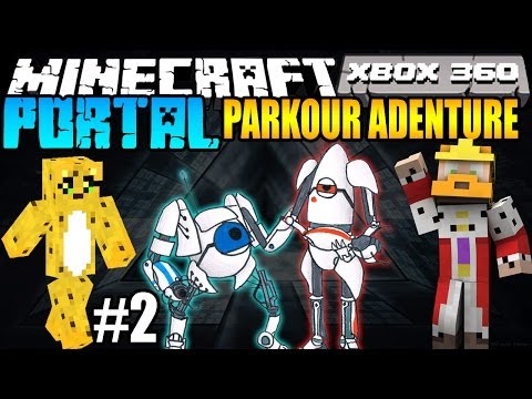 Minecraft (PS3 / XBOX360) Parkour Adventure Map #2 w/ BOLTZ & Toycat