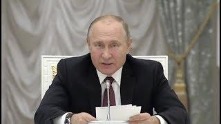 Встреча Владимира Путина с избранными главами регионов. Полное видео