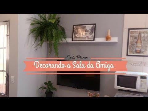 🔥DECORAÇÃO PARA SALA SEM GASTAR MUITO | Carla Oliveira