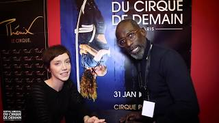 Interview Sara Giraudeau - 40e Festival Mondial du Cirque de Demain