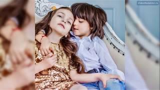 Дети Филиппа Киркорова - Мартин, Алла-Виктория. 2018