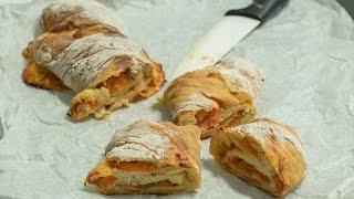 Рецепт тортано. Итальянский хлеб с начинкой.