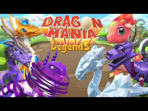 How To Breed ALL 7 Basic LEGENDARY DRAGONS In Dragon Mania Legends! (Crystal, Pixie Etc.)