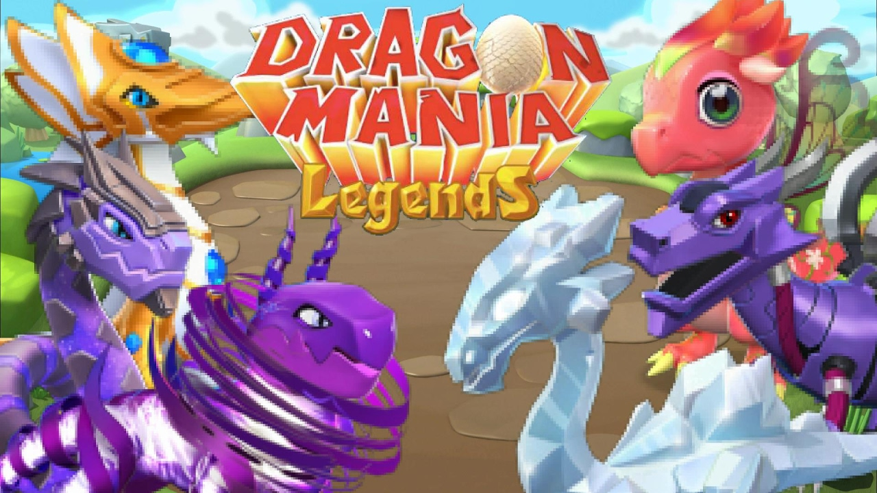 Dragon Legends: How To Breed ALL 7 Basic LEGENDARY DRAGONS In Dragon Mania