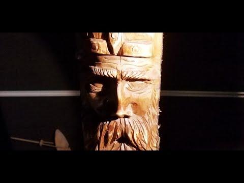 Carving a Viking