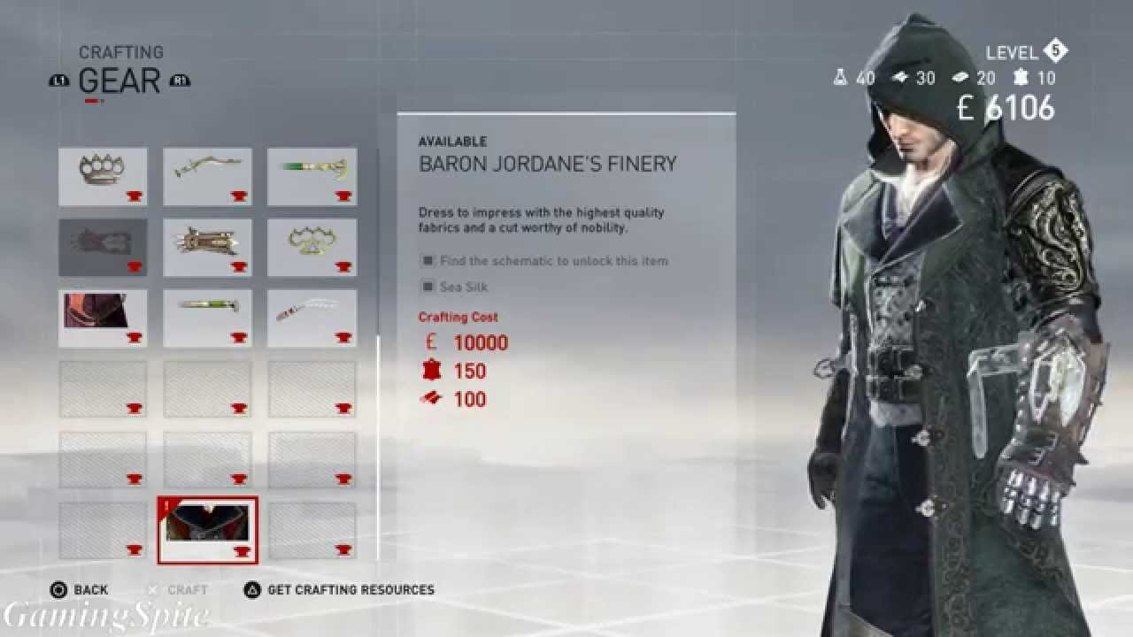 hight resolution of assassins creed syndicate baron jordane s finery schematic rh youtube com assassin s creed syndicate secrets of london assassin s creed syndicate gauntlet