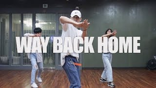 Way Back Home (SHAUN) - Jin.C Choreography (Dance Version)