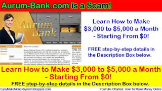 Aurum-Bank.com is a SCAM! How to Get Your Money Back From Aurum-Bank.com (HYIP)?