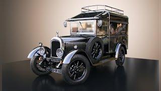 Oldtimer 3D Car modeling / animation / rendering (Engelcar)