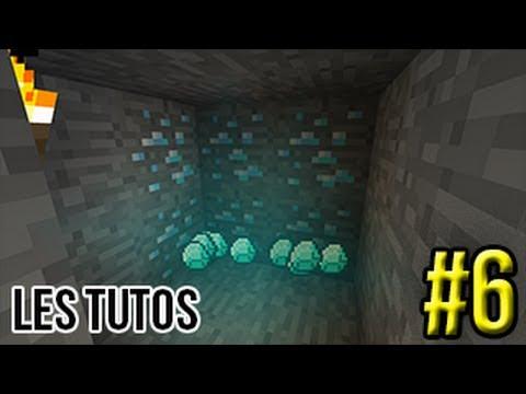 Minecraft les tutos 6 trouver du diamant facilement - Trouver du cuivre facilement ...