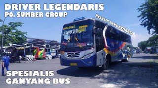 Driver Legendaris PO. Sumber Group || Tryp Sugeng Rahayu W7225UP - DATUK CARI FULUS ||