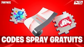 TUTO: HAVE THE SPRAY - CAMOUFLAGE WORLD CUP FREE on FORTNITE!